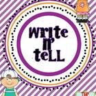 Free Write and Tell