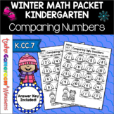 Comparing Sweaters Math Worksheets - Comparing Numbers K.CC.7