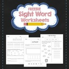 Freebie: Sight Words Worksheet