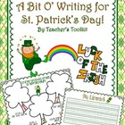 {Freebie!} St. Patrick's Day Writing