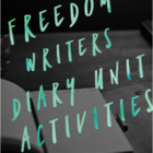 Freedom Writers diary Unit Activites
