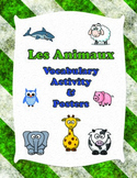 French Animals Vocabulary Activity Sheets