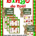 French Christmas Bingo / Bingo de Noël