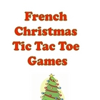 French Christmas Tic Tac Toe Games