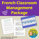 French Classroom Management Package