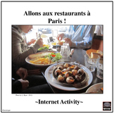 French – Eating in Paris, France – Internet Activity (Food)