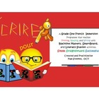 French Écrire pour lire 3: Phonics Activities