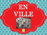 French En Ville - word wall, sentence builders and more! -