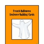 French Halloween Flash Cards