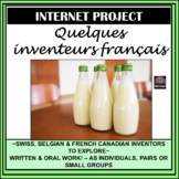 French - Inventors Project – Internet/Webquest Activity