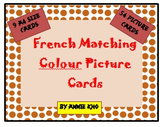 French Matching Colours Picture Cards