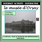 French - Musée d'Orsay – Internet Activity