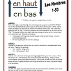 French Partner Activities with Numbers 1-50 (Speak, Listen