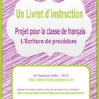 "French Procedural Writing - ""How To"" booklet"