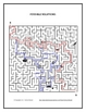 French School Item Maze