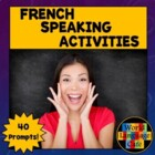 French Speaking Activities, Test, Exam for Midyear, Midter