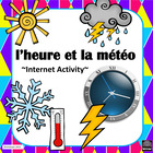 French – Time and Weather (l'heure et la météo) - Internet