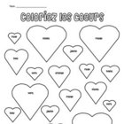 French Valentine Coloring Pages:  Coloriage pour la Saint