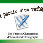 French Verb Form Practice with Sentences: Accent/Spelling-