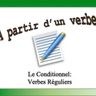 French Verb Form Practice with Sentences: Conditional, Reg