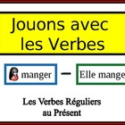 French Verb Form Writing Practice Activity: Regular (er, i