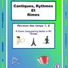 French Verb Tenses - French  Chants from Cantiques, Rythme