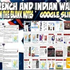 French and Indian War PowerPoint Notes Lesson Plan
