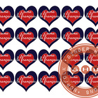 French heart stickers {j'aime le français}