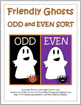 Friendly Ghosts Odd and Even Sort