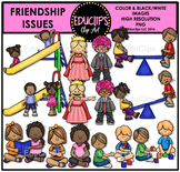 Friendship Issues Clip Art Bundle