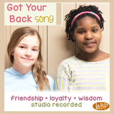 Friendship anti-bullying song - character ed - promotes loyalty!