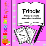 Frindle by Andrew Clements Book Unit