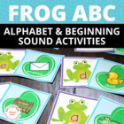 Frog Alphabet Match: ABC Activity for Preschool and Early