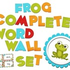 Frog Color Scheme Complete Word Wall Set