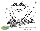Frog Count By Five's Dot to Dot!