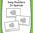 Frog Easy Readers in Spanish