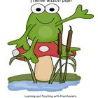 Frog In The Bog Lesson Plan Theme