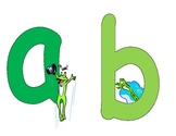 Frog Themed Alphabet