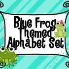 Frog Themed Blue Alphabet Set