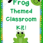 Frog Themed Class Decor Kit