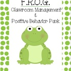 Frog Themed Classroom Management and Positive Behavior Pack