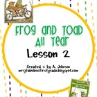Storytown 2nd Grade Lesson 2: Frog and Toad Supplementals