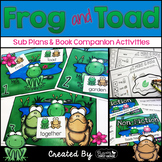 Frog and Toad Centers Activities for the Common Core Classroom