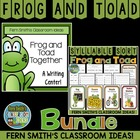 Frog and Toad Together Discounted Bundled Literacy Centers