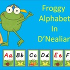 Froggy Alphabet