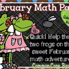 Froggy February Math Bundle - 24 Activities Included!