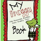 Froggy Organization Binder