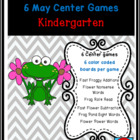 Frogs and Flowers Common Core Centers May Bundle: 6 ELA/Ma