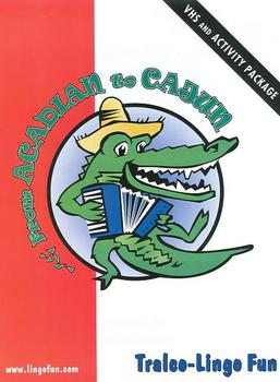 From Acadian to Cajun video activity package