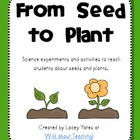 From Seed to Plant-Science Experiments and Activities